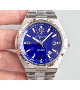 Vacheron Constantin Overseas Automatic Watch Stainless Steel Blue Dial