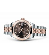 Rolex Datejust Ladies 17241-0070 Swiss Automatic Brown Dial 31MM