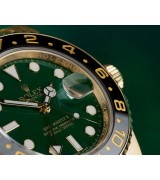 Rolex GMT-Master II Swiss Automatic Green Dial Full Gold