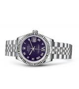 Rolex Datejust Ladies 178274-0088 Swiss Automatic Dark Purple Dial 31MM
