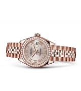 Rolex Datejust Ladies 279135-0009 Swiss Automatic Sundust Dial 28MM