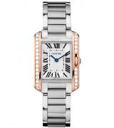 Cartier Tank Anglaise W3TA002 Quartz Watch Size S