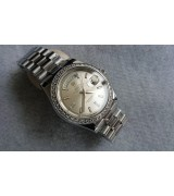 Rolex Day-Date 228349RBR Swiss Automatic Watch Silver Dial Presidential 40MM