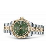 Rolex Datejust Ladies 178313-0075 Swiss Automatic Green Dial 31MM