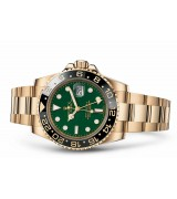 Rolex GMT-Master II 116718LN Swiss 3186 Automatic Green Dial Full Gold