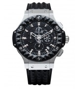 Hublot Big Bang Automatic Watch Steel Black Dial 42mm