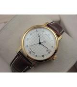 Breguet Classique Gold Swiss 2824 Automatic Man Watch 3944