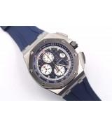 Audemars Piguet Royal Oak Offshore Swiss Automatic Chronograph-Dark Blue Dial