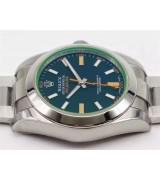 Rolex Milgauss Swiss Automatic Watch-Black Dial
