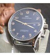 IWC Portuguese Swiss Automatic Watch-Stainless Steel Bracelet 05