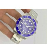 Rolex Submariner Automatic Watch 116610LB Blue Dial