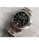 Panerai Luminor Marina Automatic Watch PAM00104 Steel Strap