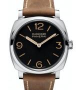 Panerai Radiomir Swiss Handwound Watch Black Dial PAM00622
