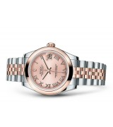 Rolex Datejust Ladies 178241-0064 Swiss Automatic Pink Dial 31MM