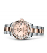 Rolex Datejust Ladies 178271-0045 Swiss Automatic Pink Dial 31MM