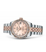 Rolex Datejust Ladies 178271-0034 Swiss Automatic Pink Dial 31MM