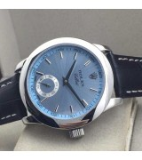 Rolex Cellini Swiss Automatic Watch-Small Seconds-Ice Blue Dial