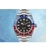GMT-Master Automatic Watch Black Dial Two toned Bezel