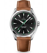 Omega Seamaster Aqua Terra 150m Golf Edition Brown Leather 41.50mm