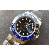 Rolex GMT-Master II Batman Swiss Automatic Watch Dark Knight 116710BLNR