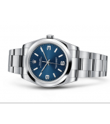 Rolex Oyster Perpetual 116000 Swiss Automatic Watch Blue Dial 36MM