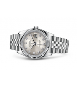 Rolex Datejust 116234-84 Swiss Automatic Watch Rhodium Dial Jubilee Bracelet 36MM