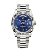 Rolex Day-Date 228239 Swiss 3235 Automatic Watch Dark Blue Dial 40MM