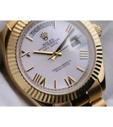 Rolex Day-Date 228238 Swiss Automatic Full Gold Casing Presidential Bracelet 40MM