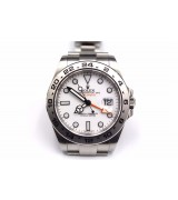 Rolex Explorer II 2011 Baselworld 216570 Swiss Automatic Watch White Dial