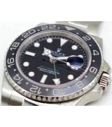 Rolex GMT-Master II 116710LN Swiss Cloned 3186 Automatic Watch Green Hand
