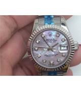 Rolex Datejust Ladies Watch Pink Dial