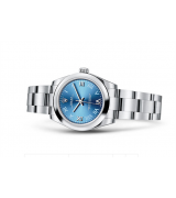 Rolex Oyster Perpetual Time Swiss Automatic Watch 31mm Dark Blue Dial
