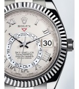 Rolex Sky-Dweller Automatic Watch Full Silver