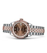 Rolex Datejust Ladies 279171-0009 Swiss Automatic Brown Dial 28MM