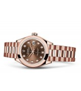 Rolex Datejust Ladies 279165-0015 Swiss Automatic Brown Dial 28MM