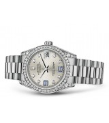 Rolex Datejust Ladies 178159-0054 Swiss Automatic Silver Dial 31MM