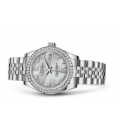 Rolex Datejust Ladies 178384-0040 Swiss Automatic MOP Dial 31MM