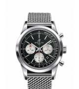 Breitling Transocean Automatic Chronograph White Ring 43mm