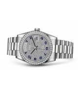 Rolex Day-Date 118239 Swiss Automatic Watch Diamonds Dial 36MM