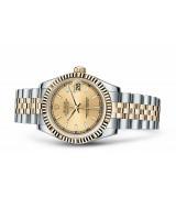 Rolex Datejust Ladies 178273-0001 Swiss Automatic Gold Dial 31MM
