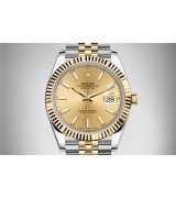 Rolex DateJust 126333 Swiss Automatic Watch Golden Dial 41MM