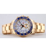 Rolex Yacht-Master II Swiss Automatic Watch Full Rose Gold