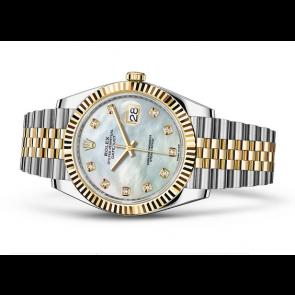 Rolex Datejust 126333-18 Swiss Automatic Watch MOP Dial Jubilee Bracelet 41MM