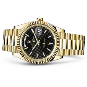 Rolex Day-Date 228238 Swiss Automatic Watch Black Dial 40MM
