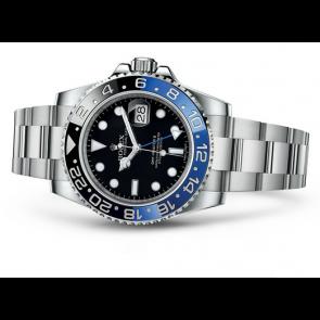 Rolex GMT-Master II 16710BLNR Swiss Cloned 3186 Automatic Watch Black/Blue