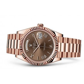 Rolex Day-Date 228235-0002 Swiss 3255 Automatic Watch Chocolate Dial 40MM