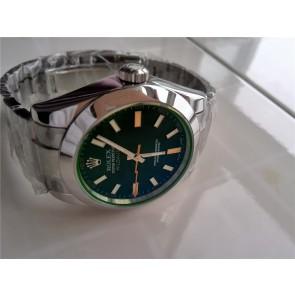 Rolex Milgauss Automatic Watch 116400GV-1 Green Dial