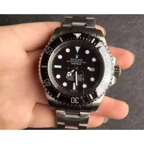 Rolex Sea Dweller DeepSea Swiss 3135 Automatic Watch Black Dial
