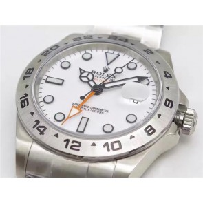 Rolex Explorer II 216570 Swiss Cloned 3187 Automatic Watch-White Dial