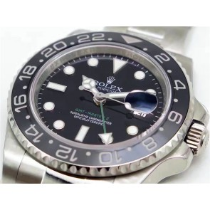 Rolex GMT-Master II 116710LN Swiss Cloned 3186 Automatic Watch Green Hand